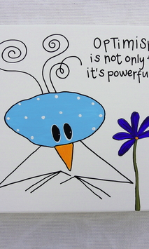 Optimism is not only fun it´s powerful