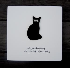Allt du behöver är kärlek och en katt
